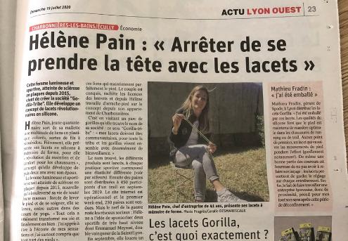 """Hélène Pain : """"Arrêter de se prendre la tête avec les lacets"""""""